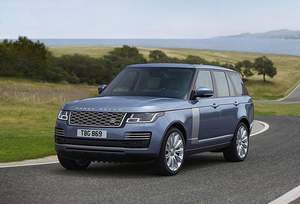 เปิดตัว 2018 Range Rover ปรับโฉมใหม่พร้อมเพิ่มรุ่นปลั๊กอินไฮบริด