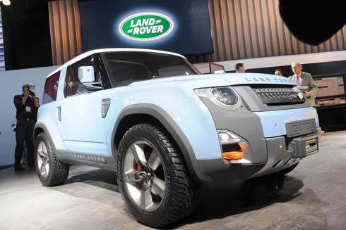 Land Rover DC100 และ DC100 Sport Concept ในงาน 2011 LA Auto Show