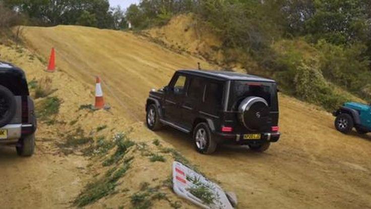 การแข่งขันรถสายลุย Land Rover Defender, Mercedes G-Class และ Jeep Wrangler