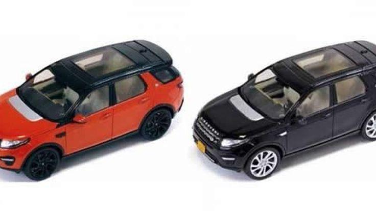 Land Rover Discovery Sport ภาพหลุดรถโมเดล