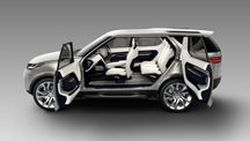 Land Rover Discovery Vision Concept ว่าที่ Discovery โฉมใหม่ เตรียมเปิดตัวกลางเดือนนี้