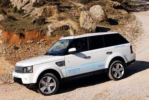 Land Rover Range_e ต้นแบบ SUV ระบบไฮบริดดีเซล-ไฟฟ้า เตรียมเปิดตัวที่เจนีวา