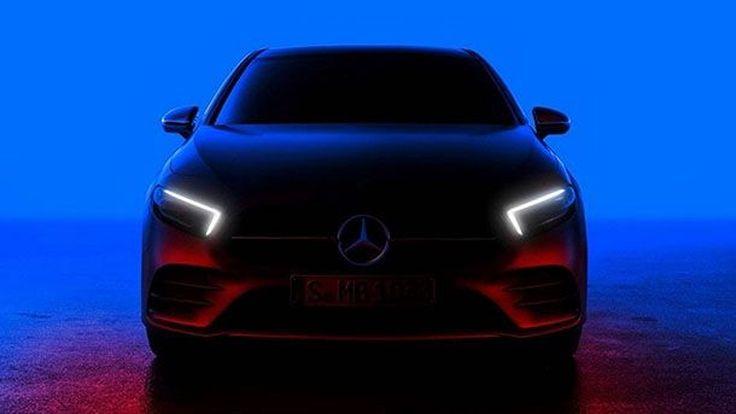 ทีเซอร์ส่งท้าย 2018 Mercedes-Benz A-Class ก่อนเปิดตัว 2 กุมภาพันธ์นี้