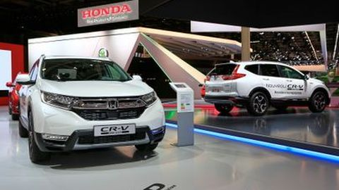 [Paris Autoshow 2018]Honda CR-V Hybrid กับ SUV รุ่นแรกของค่ายในยุโรป