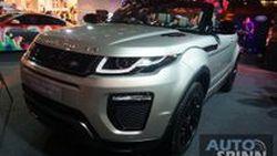 เปิดหลังคาท้าฝน Range Rover Evoque Convertible หลังคาผ้าใบ 6.299 ล้านบาท