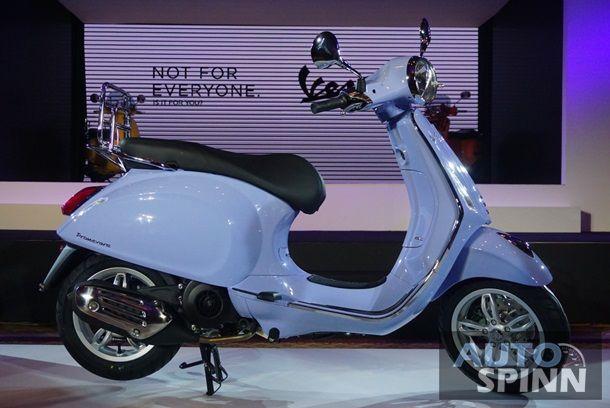เปิดตัว Vespa Primavera150 Arcobaleno พร้อมสีสันใหม่ใน 4 รุ่นหลัก