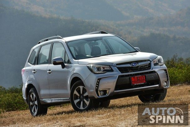 [Launched] 2016 The New Subaru Forester เอสยูวีพันธุ์ลุย พร้อมยกระดับความสมบูรณ์แบบที่มากขึ้น