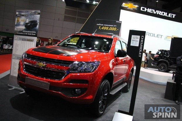 [BIG2017] Chevrolet Trailblazer Z71 รุ่นใหม่ แต่งพิเศษสุดดุดัน เคาะราคา 1.499 ล้านบาท