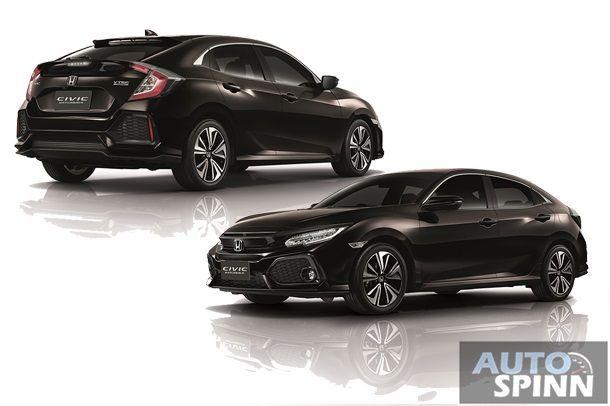 [Launched] เปิดตัวอย่างเป็นทางการ Honda Civic Hatchback สปอร์ตแฮทช์แบ็กพลังเทอร์โบ