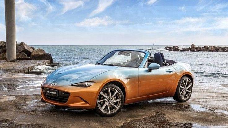 สดใสซาบซ่า !! Mazda เปิดตัว MX-5 Levanto รุ่นสีสันแบบทูโทน พร้อมบุภายในด้วยผ้ายีนส์ทั้งคัน