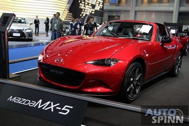 [BIMS2017] เปิดตัวครั้งแรก Mazda MX-5 RF สปอร์ตโรสเตอร์หลังคาแข็ง กับค่าตัว 2.8 ล้านบาท