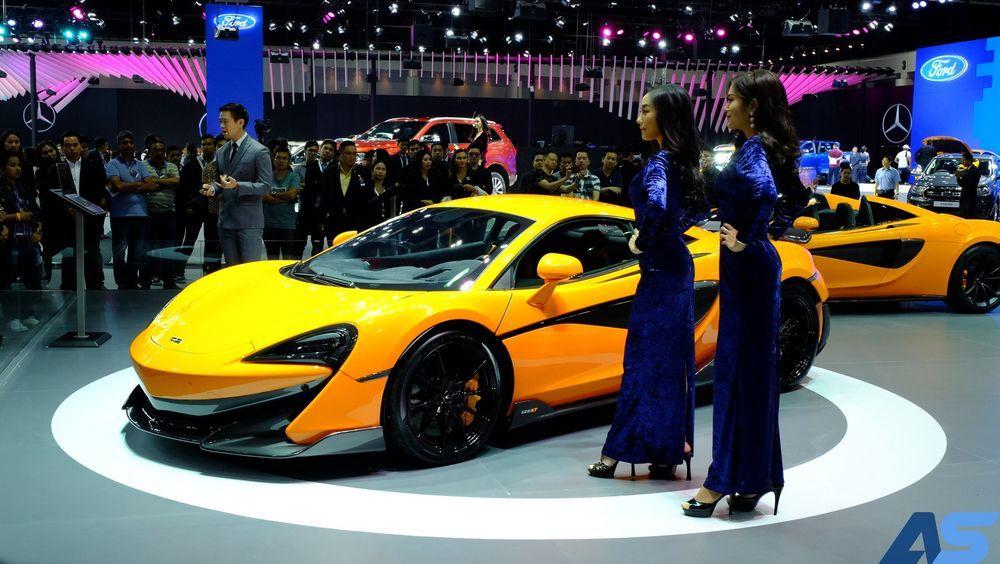 [Motor Expo] เปิดตัว แมคลาเรน 600 แอลที 24.7 ล้านบาท จำนวนจำกัด 6 คันในประเทศไทย