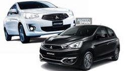 Mitsubishi New Attrage และ New Mirage เสริมออพชั่นปรับราคาเริ่มที่ 4 แสนกลาง