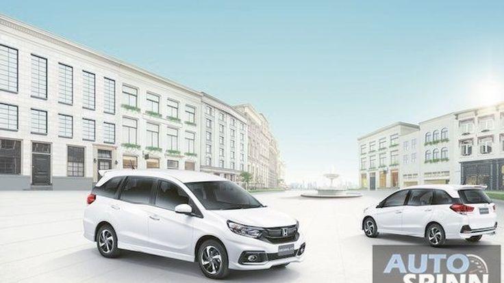 [Launched] Honda Mobilio ไมเนอร์เชนจ์ รูปลักษณ์ใหม่ น่าใช้มากยิ่งขึ้น