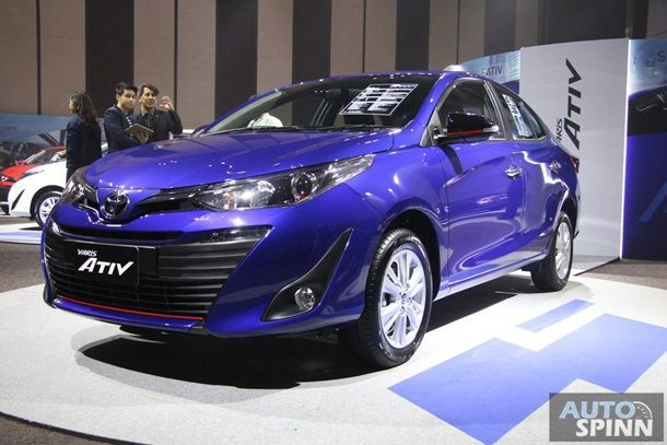 [Launched] เปิดตัว New Toyota Yaris ATIV ซีดานอีโคคาร์รุ่นแรกของค่าย เคาะราคาเริ่มต้น 4.69 แสนบาท