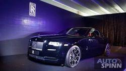 [Launched] เปิดตัวอย่างเป็นทางการ Rolls-Royce Wraith Black Badge รุ่นพิเศษในไทย เคาะราคา 34.9 ล้านบาท
