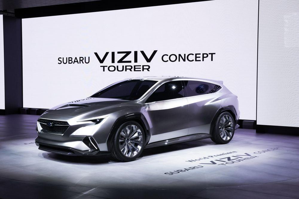 เปิดตัว รถต้นแบบ 'ซูบารุ วิซีฟ ทัวเรอร์ (Subaru VIZIV Tourer) ครั้งแรกในโลกในงาน Geneva International Motor Show