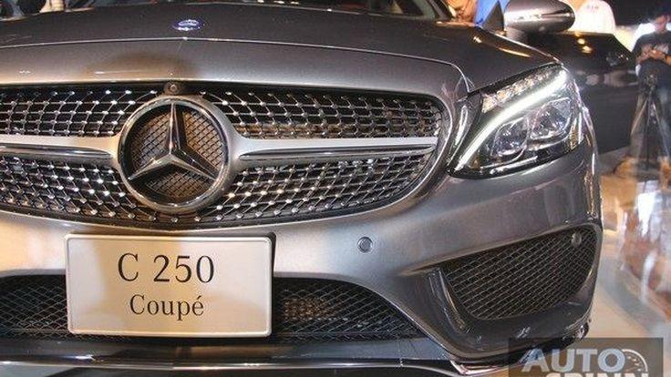 [Launched Video] ชมวีดีโอเปิดตัว 2016 Mercedes-Benz C-Class Coupe หล่อ หรู โดนใจมากยิ่งขึ้น