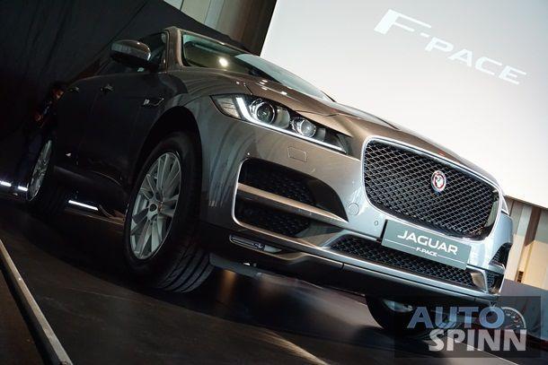 [Launched&Gallery] Jaguar F-Pace เอสยูวีสมรรถนะสูงดีเซล 180 แรงม้า 3 รุ่นย่อยเริ่ม 4.699 ล้านบาท