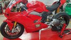หลุดทั้งคัน Ducati Panigale V4 ราวกับเพิ่งออกจากไลน์ผลิต