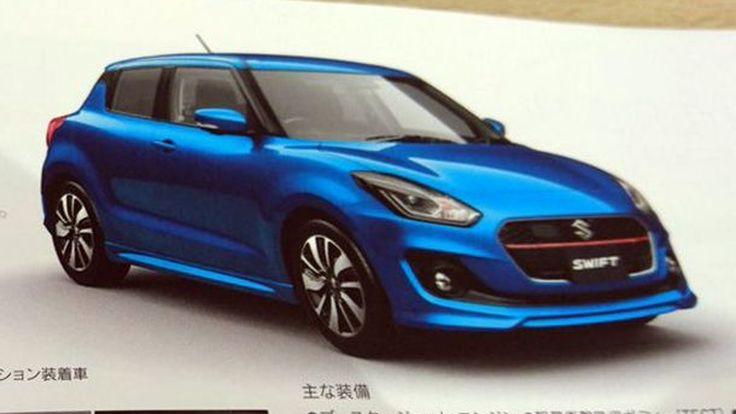 หลุดอีกรอบ Suzuki Swift เจนเนอเรชั่นใหม่ ทันสมัยกว่าเดิม