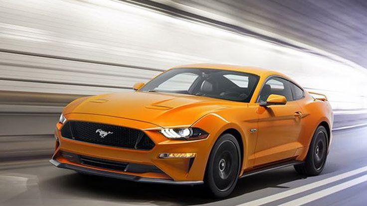 เผยภาพหลุดโบรชัวร์ 2018 Ford Mustang ติดตั้งอุปกรณ์ใหม่เพียบ