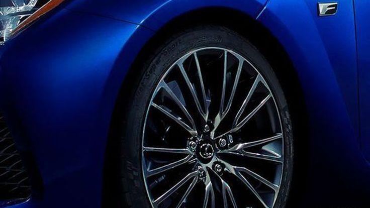 Lexus โชว์ภาพทีเซอร์รถสมรรถนะสูงรุ่นใหม่ เตรียมเปิดตัวที่ดีทรอยท์