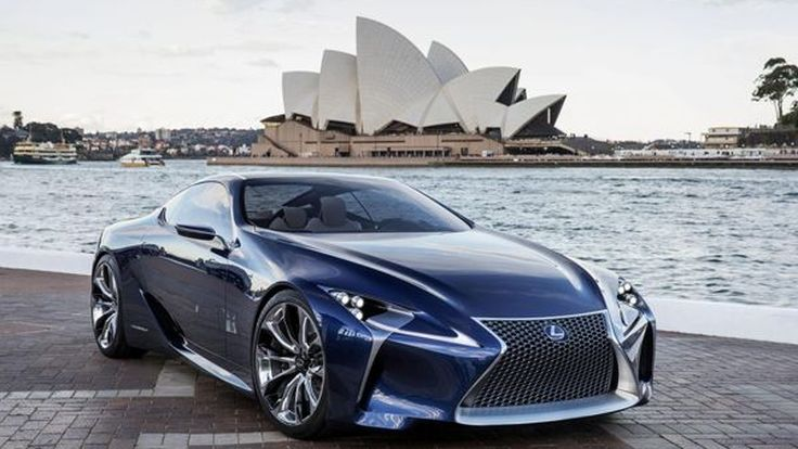 """Lexus เอาจริงฟื้นชื่อรุ่น """"SC"""" พัฒนาจากรถ LF-LC ออกขายปี 2017"""
