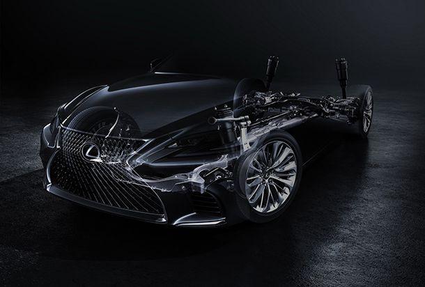 Lexus เผยทีเซอร์ All-New 2018 LS ซีดานตัวท็อปจ่อเปิดตัวต้นปีหน้า