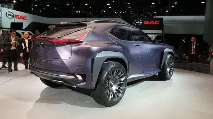 Lexus เตรียมนำ UX Crossover Concept ขึ้นสู่สายการผลิตรถเอสยูวีไซส์ใหญ่