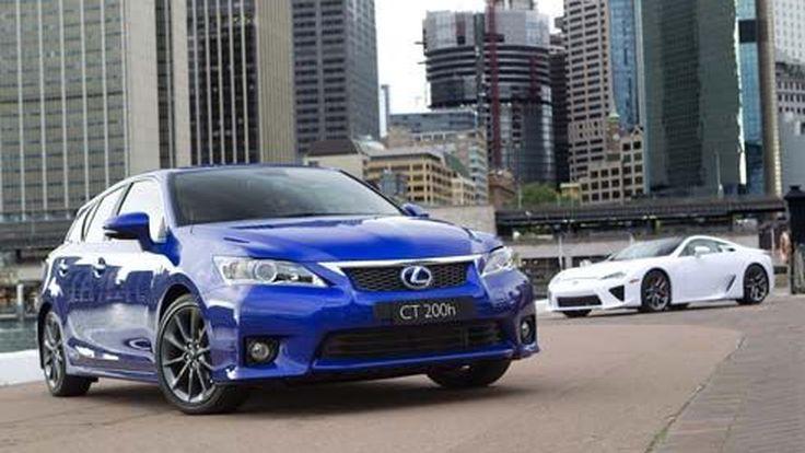 Lexus CT 200h F Sport แฮทช์ไฮบริดสไตล์สปอร์ต เตรียมเปิดตัวที่ Australian Motor Show