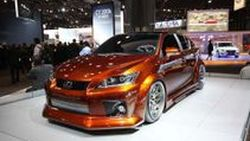 Lexus CT200h แต่งโหดสไตล์ Fox Marketing อวดโฉมที่ New York Auto Show