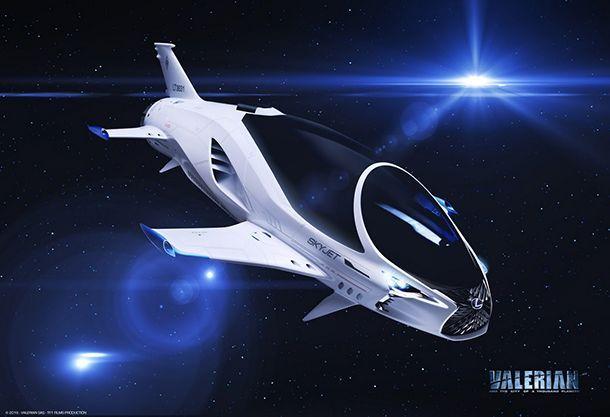 Lexus ร่วมออกแบบยานอวกาศสำหรับหนัง Valerian And The City Of A Thousand Planets