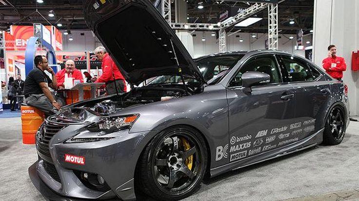 """Lexus IS โมดิฟายด์เต็ม 700 แรงม้าด้วยขุมพลัง """"2JZ"""""""
