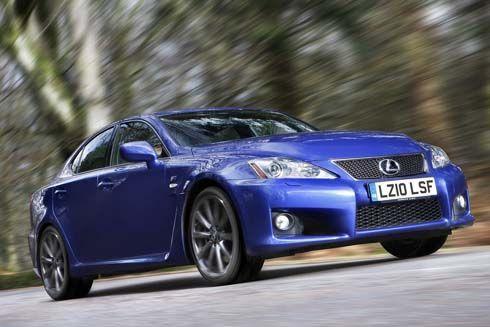 Lexus IS-F ใหม่ รุ่นปี 2011 สปอร์ทซีดานสุดหรู ไฮเทคมากขึ้น เอาใจผู้ดีอังกฤษ