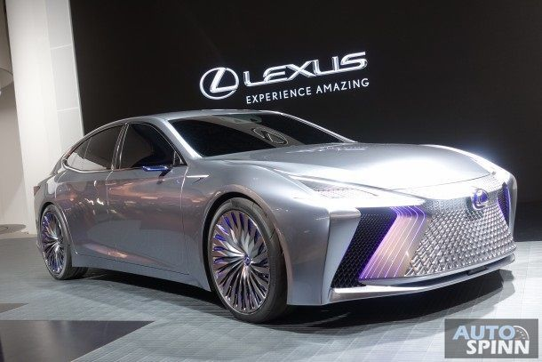 [Tokyo2017] Lexus ปิดตัว LS+ Concept คอนเซปต์รถขับขี่อัตโนมัติสุดล้ำรุ่นใหม่