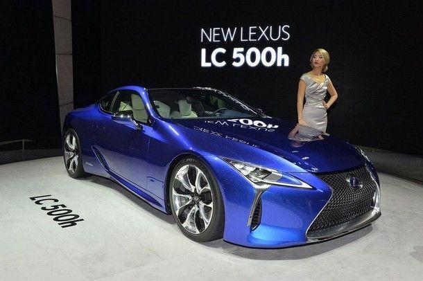 หล่อไม่เบา !! Lexus LC500h สปอร์ตคาร์พลังไฮบริด เปิดตัวพร้อมพลัง 355 แรงม้า