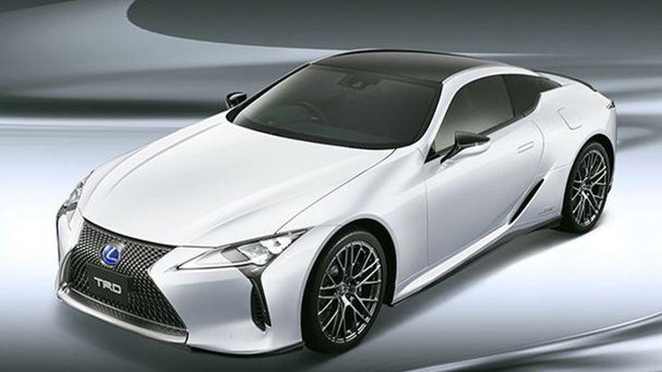 Lexus LC อัพเกรดความหล่อเพิ่มเติมด้วยชุดแต่ง TRD