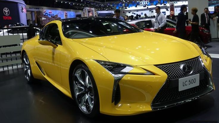 TIME2017: พาชม Lexus LC500 สุดยอดคูเป้ ขุมพลัง V8 กับม้าถึง 471 แรงม้า กับค่าตัวเริ่มต้นที่ 16 ล้านบาท