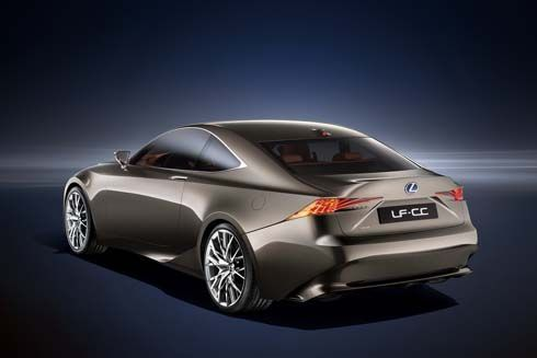 เผยโฉม Lexus LF-CC Concept รถต้นแบบงานดีไซน์ของ IS เจนเนอเรชั่นใหม่
