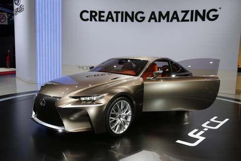 Lexus LF-CC ต้นแบบงานดีไซน์ของ IS รุ่นใหม่ เผยโฉมที่ Paris Motor Show
