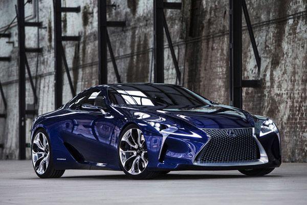 เฮลั่น! Lexus คอนเฟิร์มผลิต LF-LC ออกขายปี 2016