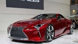 Lexus LF-LC รถสปอร์ตต้นแบบสุดล้ำ อวดโฉมในงาน Motor Expo 2012