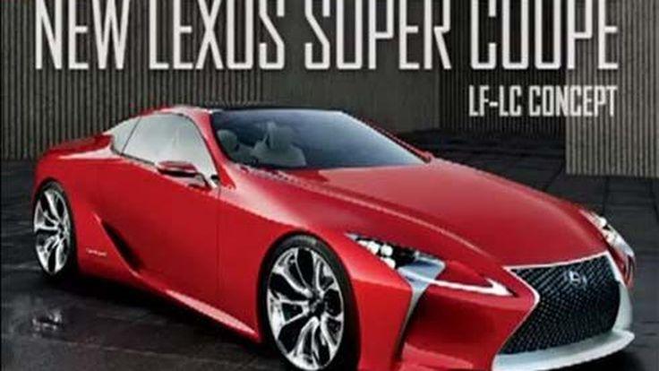 Lexus LF-LC Concept รถสปอร์ตคูเป้ตัวใหม่ กับภาพหลุดชุดแรกจาก Road & Track
