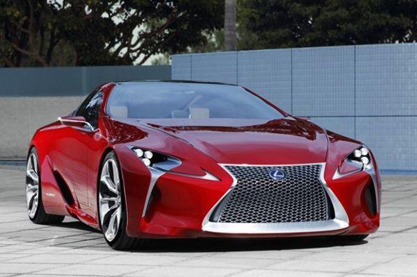 Lexus จะเน้นผลิต LF-LC Concept ออกขายเจาะลูกค้าในวงกว้าง