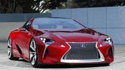 Lexus LF-LC Concept คูเป้เปิดประทุนระบบไฮบริด พร้อมผลิตขายภายในปี 2015
