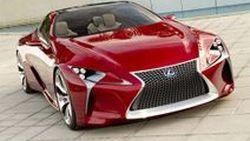 Lexus LF-LC Sports Coupe Concept กับภาพชุดล่าสุด ก่อนเปิดตัวที่ Detroit Auto Show