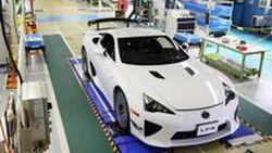 ปิดฉากไลน์ Lexus LFA ซูเปอร์คาร์คันสุดท้ายหมายเลขที่ 500 ออกจากสายการผลิตแล้ว