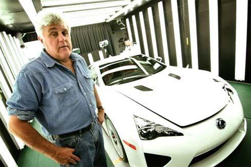 Lexus LFA Spyder รุ่นเปิดประทุนคันเดียวในโลก ทดลองขับโดยพิธีกรชื่อดัง Jay Leno