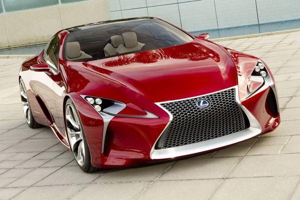 สาวกเฮ Lexus คอนเฟิร์มไฟเขียวสายการผลิต LF-LC Sports Concept